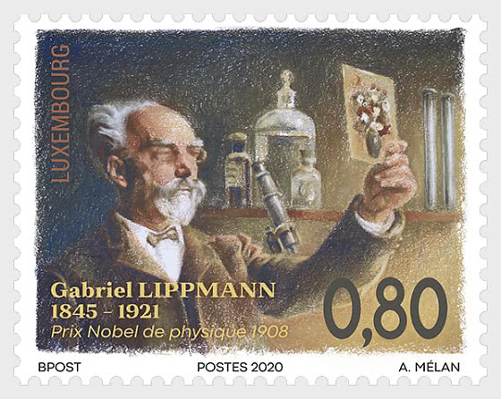 175th Birthday of Gabriel Lippmann - Set