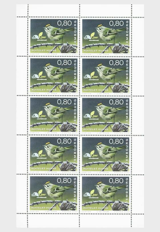 100 Years of Natur & Emwelt - Sheetlets