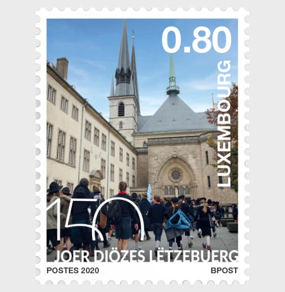 150 Years of Diocese of Luxembourg - Set
