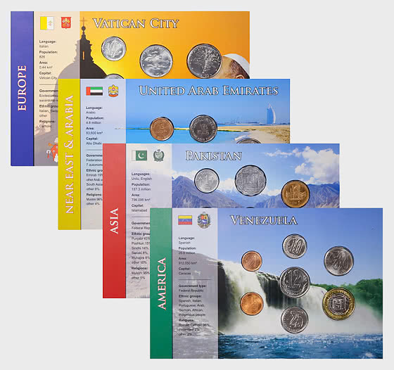 Coin Sets of all Nations 6 - Coin Card