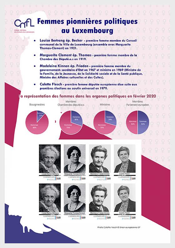 Politische Pionierinnen in Luxemburg - Bogenserie