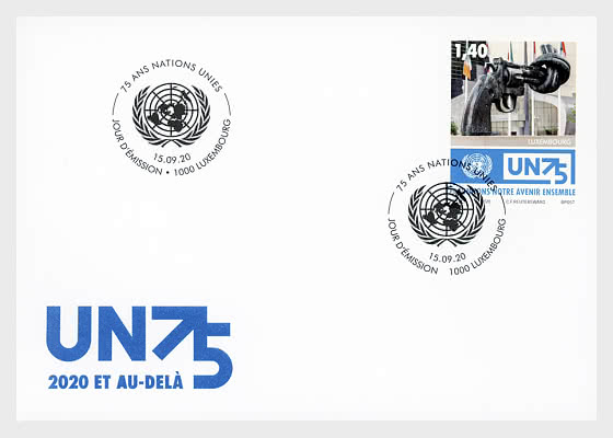 75 Years United Nations - First Day Cover