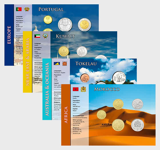 Coin Sets of all Nations 7 - Coin Card