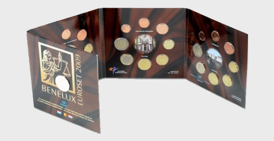Euroset Luxembourg 2009 - Coin Year Set