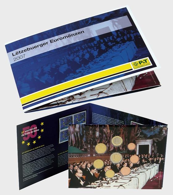 Euroset Luxembourg 2007 - Coin Year Set