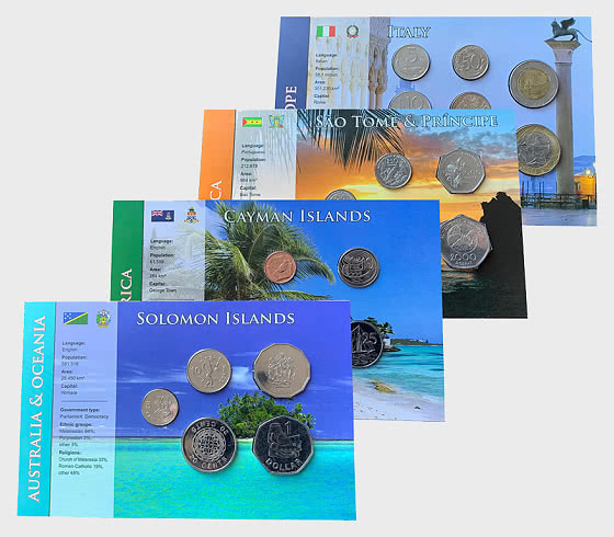 Coin Sets of all Nations 8 - Coin Card