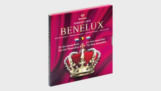 Euroset BeNeLux 2011 - Coin Year Set