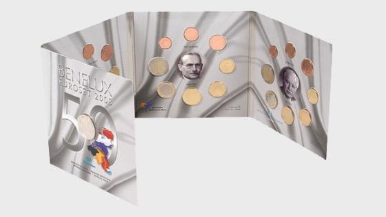 Euroset BeNeLux 2008 - Coin Year Set
