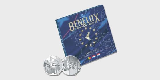 Euroset BeNeLux 2007 - Münzen Jahr-Set