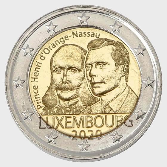 200 Years Prince Henri D 'Orange-Nassau - Single Coin