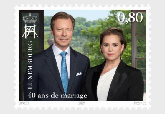 40 Years Of Marriage For The Grand Ducal Couple - Set