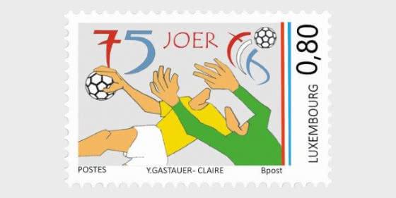 75 Years Of Federation Luxembourgeoise De Handball - Set