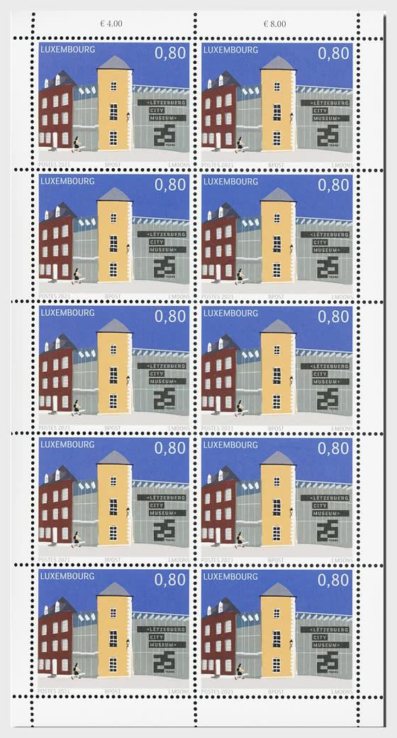 25 Jahre Luxemburgisches Stadtmuseum - Bogenserie
