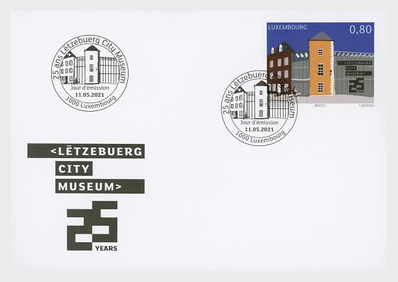 25 Jahre Luxemburgisches Stadtmuseum - Ersttagbriefe