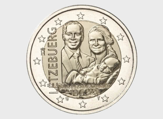 2 Euro - Birth of Prince Charles (Relief) - Single Coin