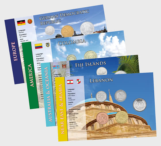 Coin Sets of all Nations 9 - Coin Card