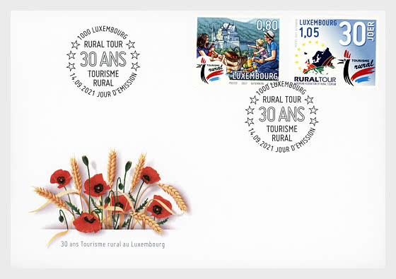 Tourism In Rural Areas - First Day Cover