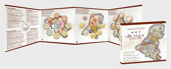 Set BENELUX 2021 - Coin Year Set