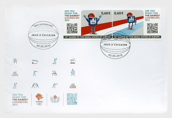 Games Of The Small States Of Europe 2013 - First Day Cover