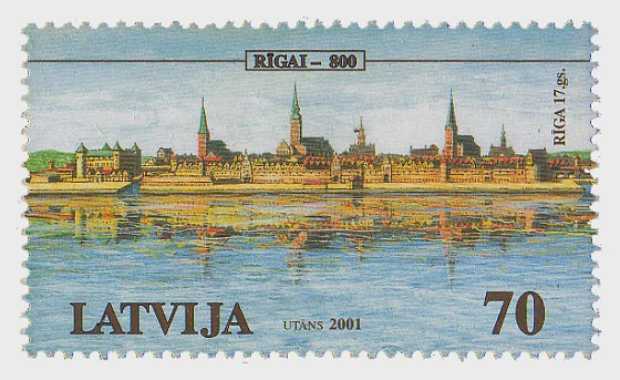 800th Anniversary of Riga 2001 - Set