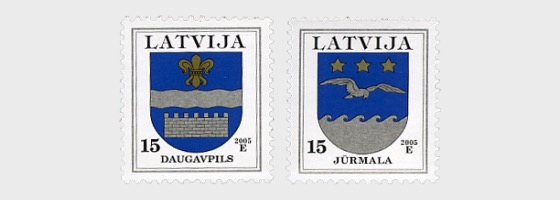 Coats of Arms of Regions and Towns -2005 - Set