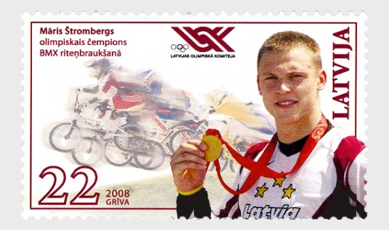 Olympic Champion in BMX, 2008 - Set