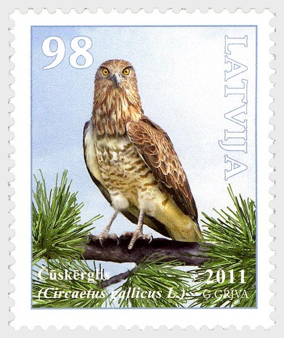 Birds of Latvia 2011 - Short-Toed Eagle - Set