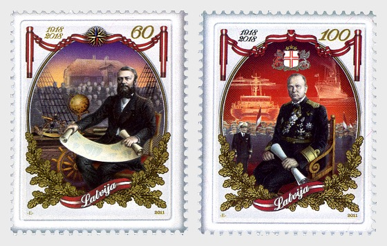 100th Anniversary of Latvia Republic 2011 - Set