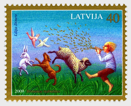 Latvian's Fairytales - Set