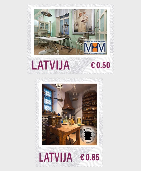 Personalisierte Briefmarke - Museen 2014 - Serie