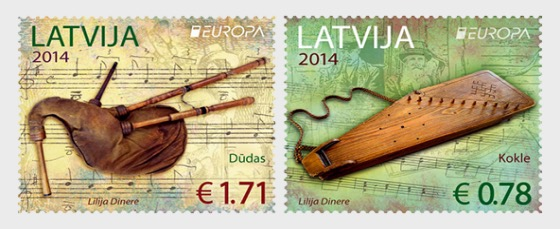 Europa 2014 Nationale Instrumente - Serie