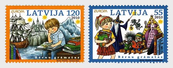 2010年欧洲 - 儿童书 - 套票