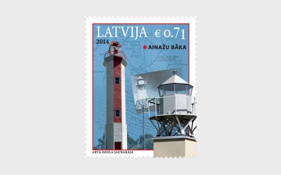 Lettische Leuchttürme - 2014 - Serie