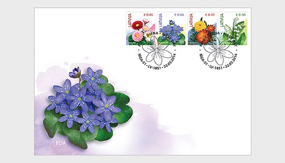 Flowers (2nd Edition) 2014 - First Day Cover