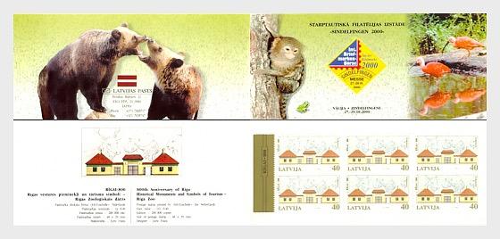 EXPO Booklet - Sindelfingen Riga Zoo 2000 - Stamp Booklet