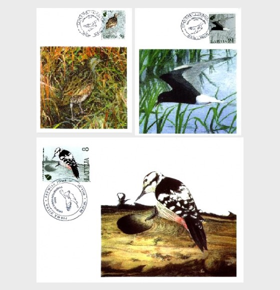 European Nature Conservation Year  1995 - Maxi Cards