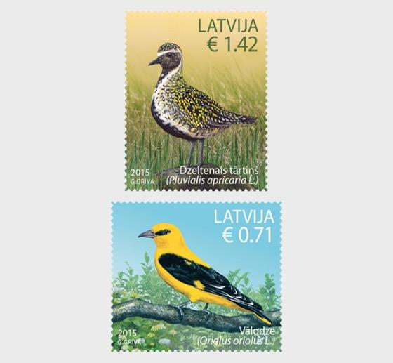 2015年鸟类 - 套票