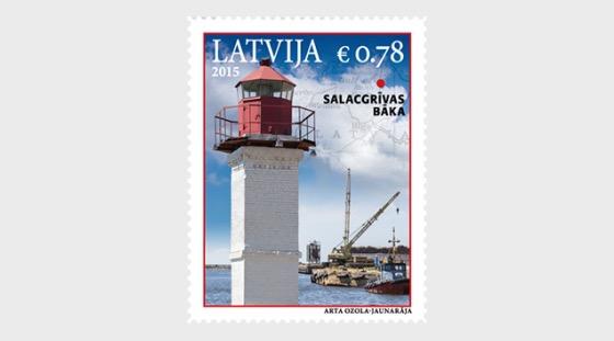 拉脱维亚灯塔 - 灯塔Salacgrivas - 套票