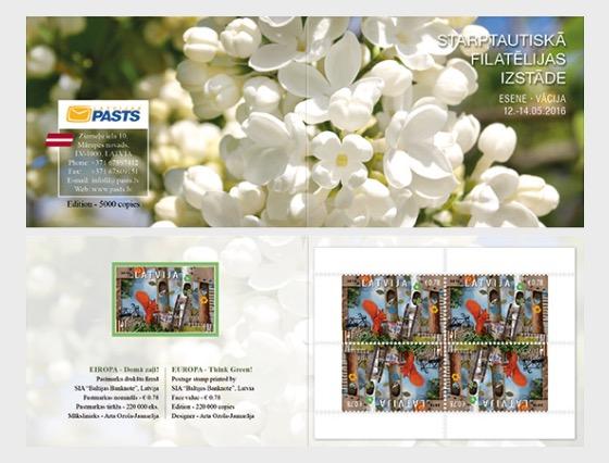 Stamp Fair Essen Exhibition Booklet 2016 - Stamp Booklet