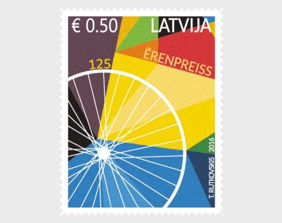免费的主题 - G.Ērenpreisam - 125 - 套票