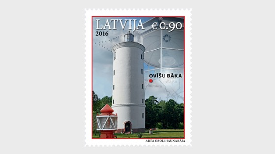 Latvian Lighthouses - Ovisi Lighthouse - Set