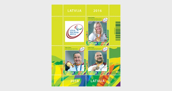 Summer Paralympic Games Medal Winners  - Miniature Sheet