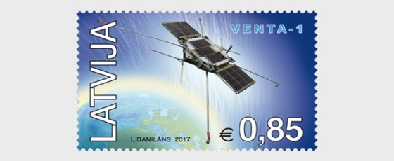 Latvia's first satelite Venta-1 - Set