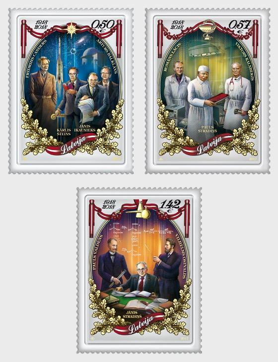 100th Anniversary of Latvia Republic - Set