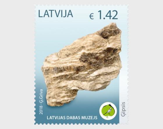Unique Exhibits of the Latvian Museum of Natural History - Gypsum Rock - Set