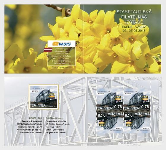 Europa 2018 - (Stamp Fair Essen 2018 Booklet) - Stamp Booklet