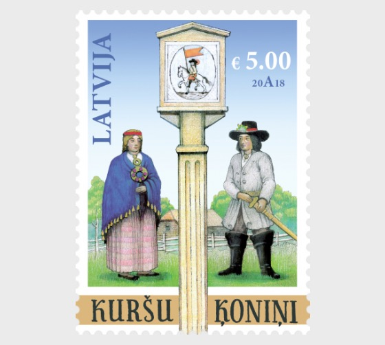 Joint Issue with Bank of Latvia-Couronian Kings - Set
