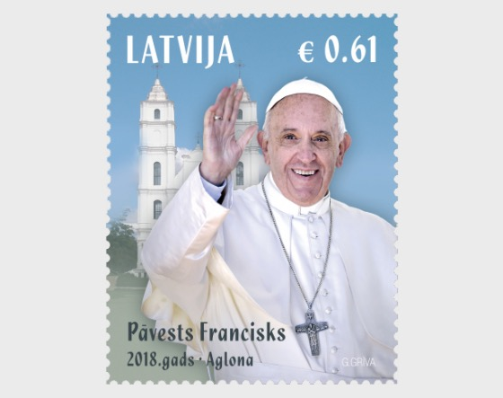 Pope Francis visit to Latvia - Set