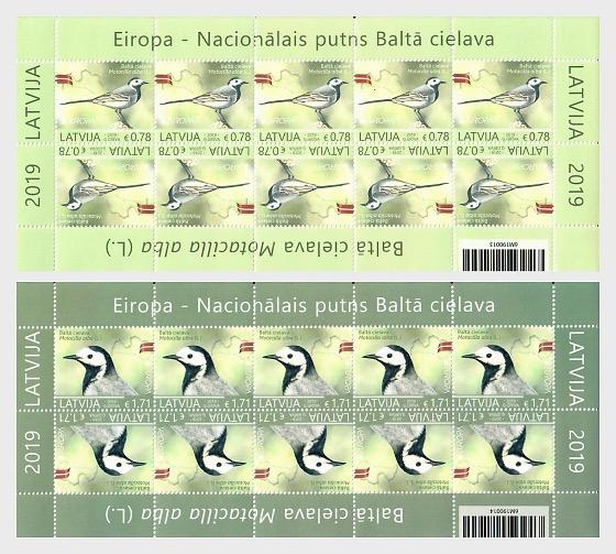 Europa 2019 - National Birds - Sheetlets