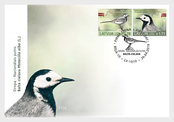 Europa 2019 - National Birds - First Day Cover